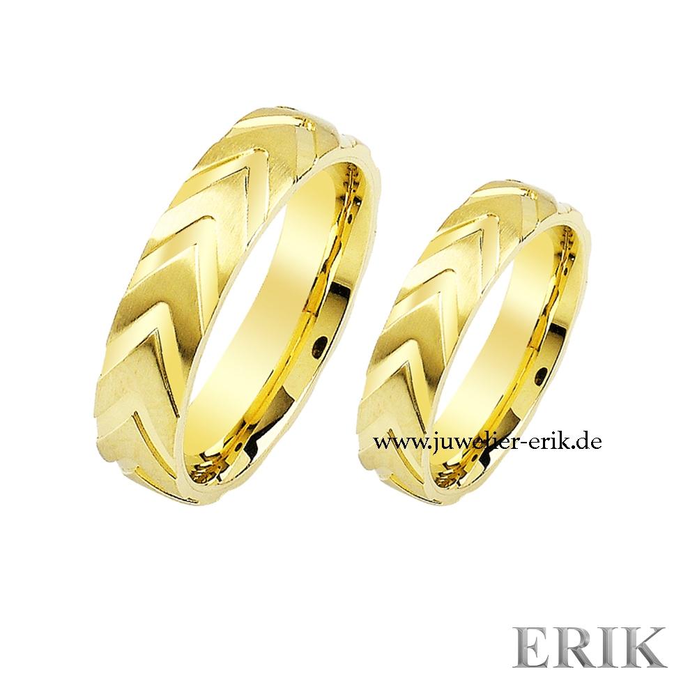 Hochzeitsringe 585 14 Karat Gold