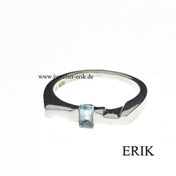 Damen Ring Zirkonia