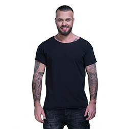 BySezen T shirt Basic-black