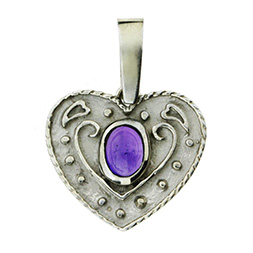Amethyst Herz Anh�nger