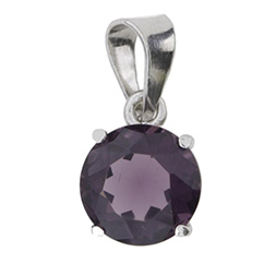 Anh�nger Round Purple