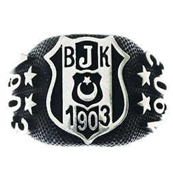 Besiktas Ring 925 Sterling Silber