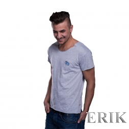 BySezen Jeans Pocket small SHIRT grau