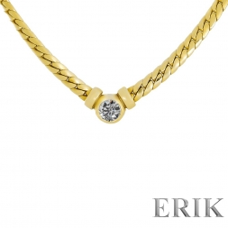 Brillant Collier Gold