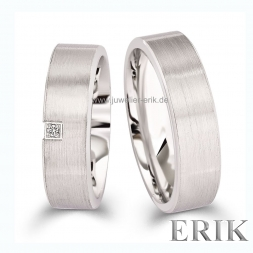 Moderne Partnerringe 925 Sterling Silber